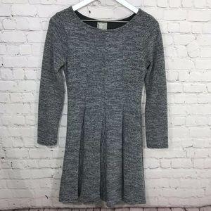 Anthropologie Dolan Fleece Sweater Dress Gray